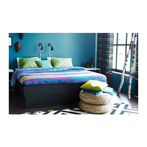 OPPDAL Bed frame with storage IKEA The four drawers in the bed frame provide a lot of storage space. $249.00