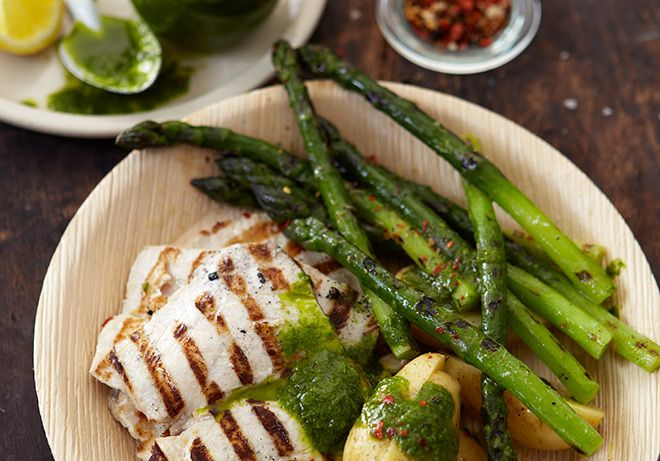 Keep it simple with this basic yellowtail recipe from our Weber expert Pete Goffe-Wood.