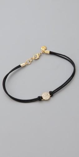 Gorjana Pantheon Leather Bracelet - StyleSays