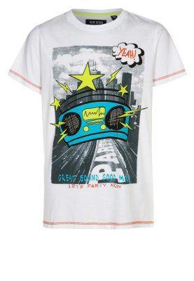 Enfant Blue Seven T-shirt imprimé - weiß blanc: 13,00 € chez Zalando (au 09/01/15). Livraison et retours gratuits et service client gratuit au 0800 740 357.