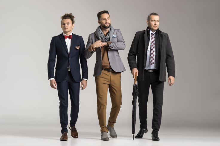 Jedną z rzeczy łączącą pokolenia jest garnitur. Każdy wygląda w nim wyjątkowo...  www.jfryderyk.pl  #jfryderyk #j #fryderyk #garnitur #moda #męska #jesień #2015 #suit #mensfashion #men #fashion #autumn