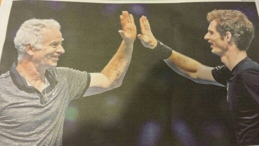 Legends- McEnroe & Murray