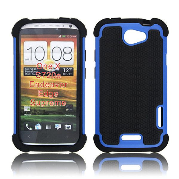 Triple the protection to your HTC One X today with this rugged hybrid back case. Ballistic shock absorbing polymer and impact resistant poly cabonate protects from external damages while the iiner soft silicon handles your device with delicate care. Read more about it now at goo.gl/Mk3r5e