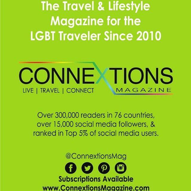 Thank U for loving us. The latest issue of #ConnextionsMag: #LOVE AROUND THE WORLD www.connextionsmagazine.com #LGBTtravel #Magazine #theLGBTExpo #GayExpo #GayCruise #Destination #LGBT #GLBT #gaytravel #lesbiantravel #bisexual #trans #transgender #transworld #instagay #lesbihonest #gaystagram #gay #lesbian #adventure #vacation #gayfamilytravel  @ConnextionsMag  Live | Travel | Connect The #Travel Magazine for LGBT #Travelers