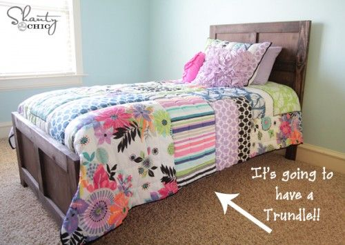 Best 25+ Trundle Bed Frame Ideas On Pinterest