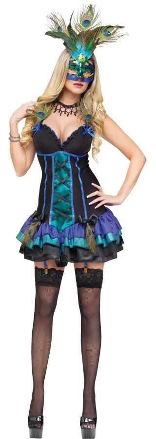 Nice Costumes Midnight Peacock Costume just added...