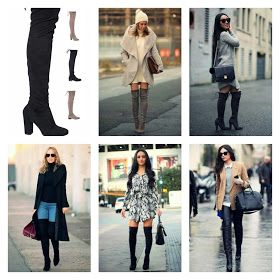 MUST-HAVE Over the knee boot