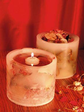 Energize o lar com velas artesanais de flores e frutas secas - Portal de Artesanato - O melhor site de artesanato com passo a passo gratuito