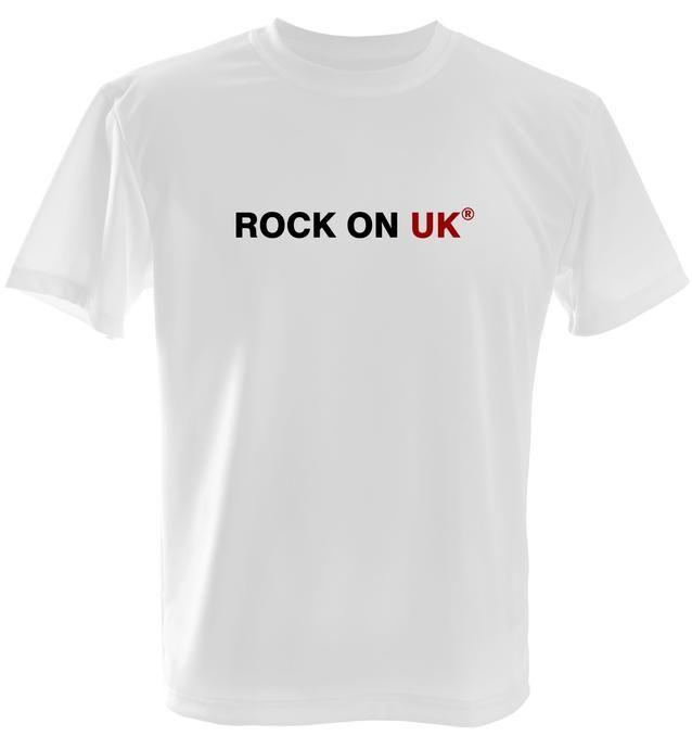 ROCK ON UK® Men's Soft Style T-Shirt - White