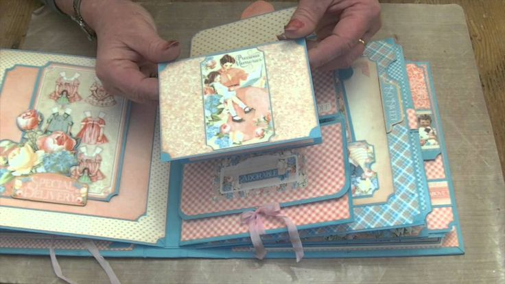 "May 2015 G45 Precious Memories - 8 1/4""x 8 1/4"" Keepsake Album for Children/Grandchildren Photos (Online Workshop Available http://www.mycreativespirit.co.uk/precious-memories-album-on-line-workshop-graphic-45-563-p.asp) by Clare Charvill; My Creative Spirit"