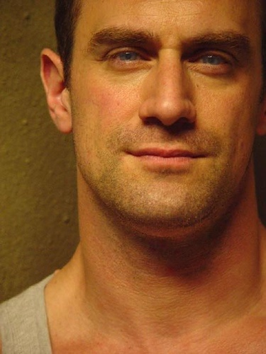 Christopher Meloni.I loved him on Law and order SVU.