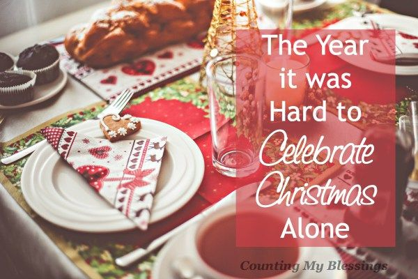 It was our first time to spend Christmas alone and we weren't happy. Read what happened that change our mood that day and every Christmas since...