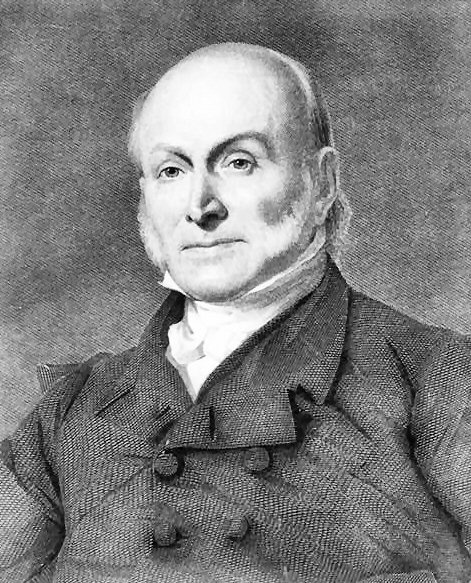 John Quincy Adams (July 11, 1767 – February 23, 1848) was the sixth President of the United States (1825–1829). He served as American diplomat, Senator, and Congressional representative. As a diplomat, Adams played an important role in negotiating many international treaties, most notably the Treaty of Ghent, which ended the War of 1812.