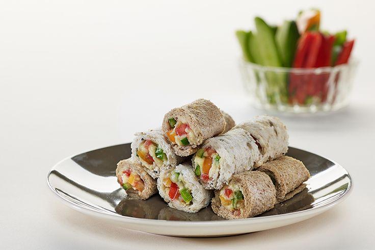 """Ανατολίτικα ρολάκια με ψωμί για τοστ """"Γεύση στο Τετράγωνο"""" ΠΑΠΑΔΟΠΟΥΛΟΥ Πολύσπορο και Ολικής Άλεσης"""