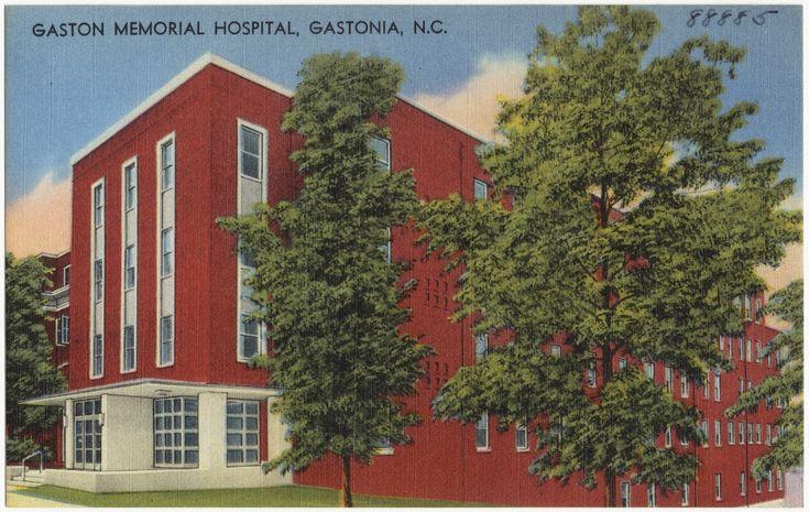 Gaston memorial hospital and grounds gastonia nc