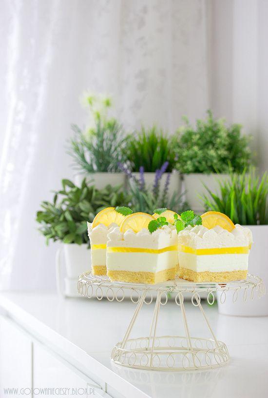 Cytrynowy puch - Gotuję, bo lubię