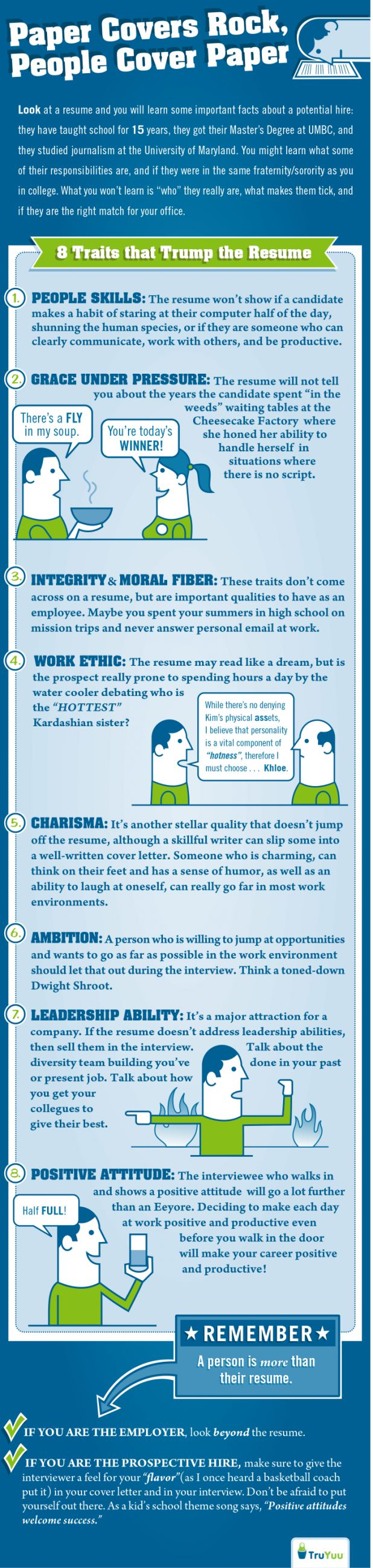 infographic  here are 8 important traits that a resume just can u0026 39 t illustrate