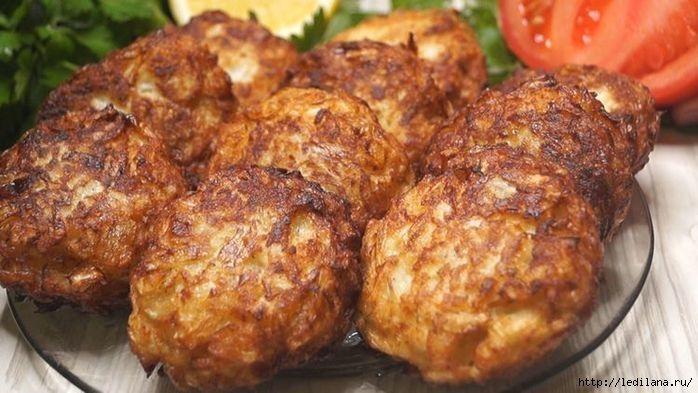 Вкусные котлеты без грамма мяса из капусты
