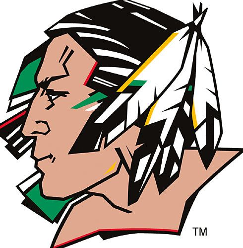 UND fighting sioux logo | Not a Simple Logo Change for University of North Dakota's Fighting ...
