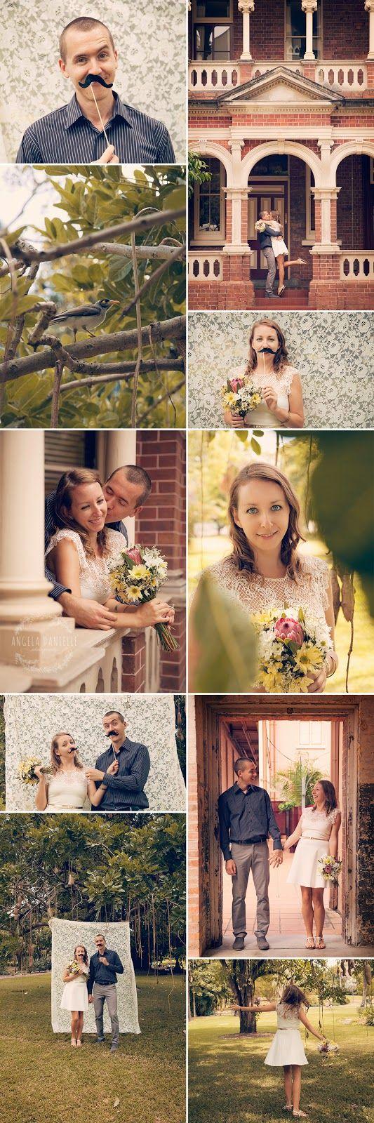 Elopement & Portrait photographer Brisbane www.angeladanielle.com.au