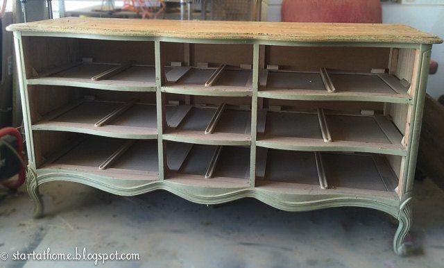 French Dresser Turned Bench