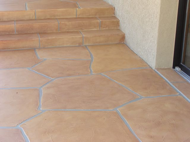 Outdoor Tile Over Concrete Patio Tucson Concrete