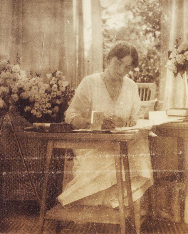 "Grand Duchess Olga Nikolaevna Romanova of Russia in 1916. ""AL"""
