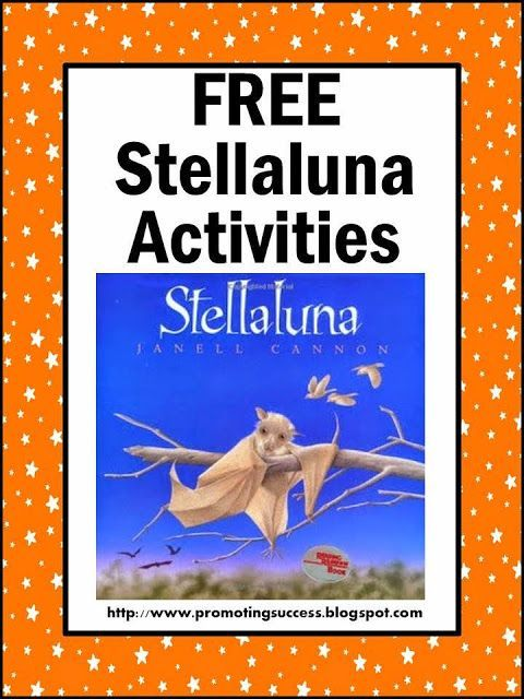 Free Stellaluna Bat Activities and Printables In this blog post, you will find a FREE graphic organizer, a read aloud video, bat fact videos, a free printable bat facts sheet, a video about the world's largest bat, directions for a comprehension game, a FREE counting worksheet and more.
