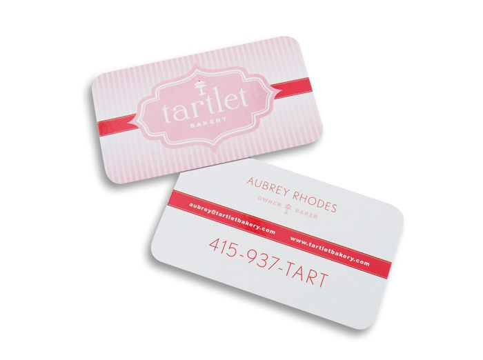 24 best business card portfolio images on pinterest print design business card design for tartlet bakery httpartsygeek colourmoves