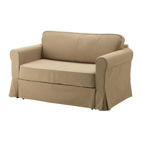 HAGALUND Divano letto a 2 posti IKEA Nel contenitore sotto il sedile puoi organizzare, per esempio, la biancheria da letto.