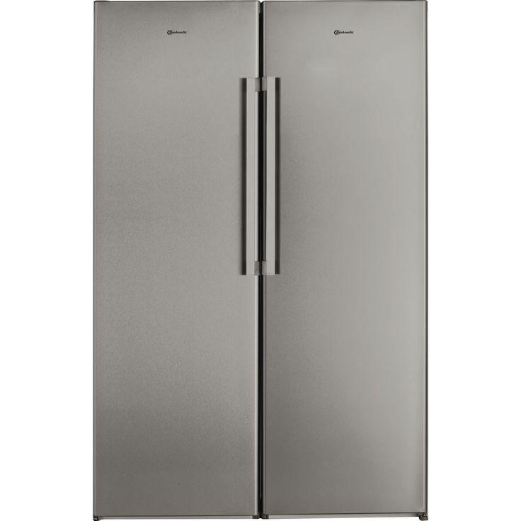 Kühlschrank, freistehend, freistehender, Bauknecht, Edelstahl, kühlen, kuehlen, Schrank - Bauknecht