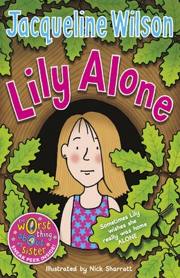 Jaqueline Wilsons books tend to be targeted at young teens. The covers are bright and appealing, the same as any children's book, however there is more added detail, and illustrations that may suggest personality traits of a character in the book, her front covers are carefully crafted to try and encourage teens to figure out more information about the book simply from the cover