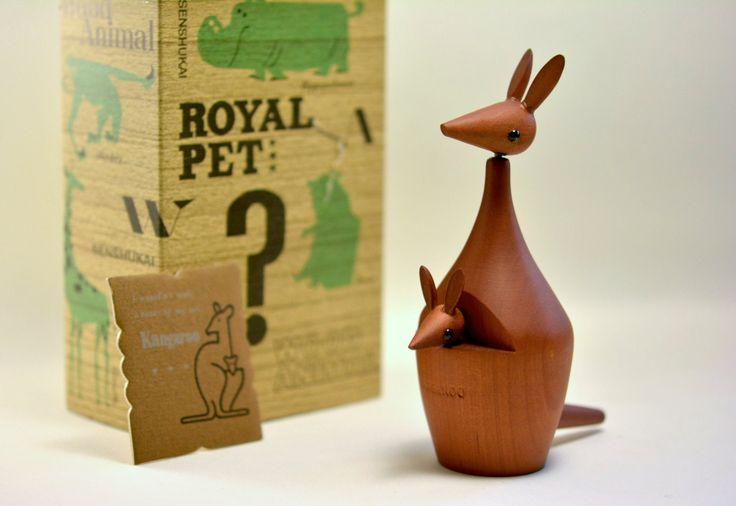 Vintage Royal Pet / KANGAROO with original box by MinimalismOnline