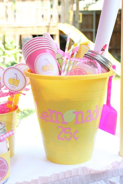 Lemonade Birthday Party