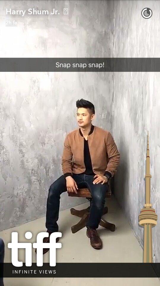 #TIFF Photoshoot - Via Harry's Snapchat