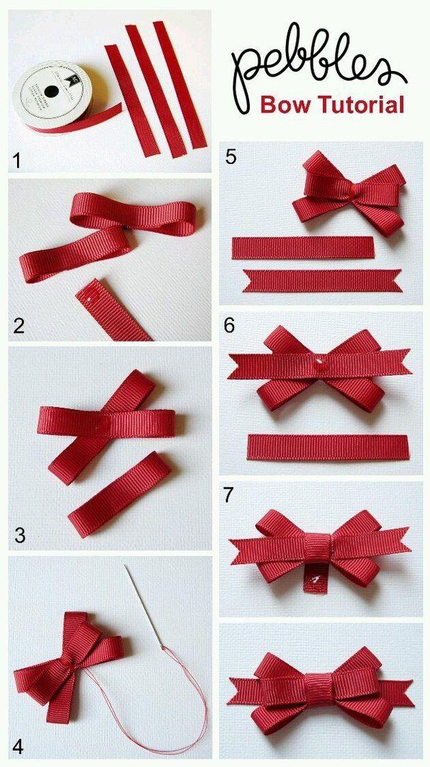 Как завязать ленточку бантиком на открытке, время суток рождественские