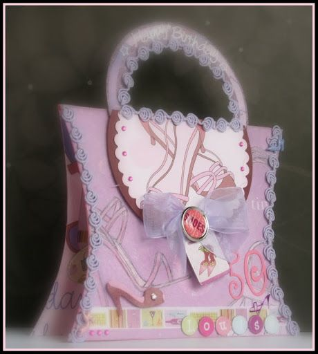 Cute Handbag Card Cards And Such Pinterest Crafts Ideas