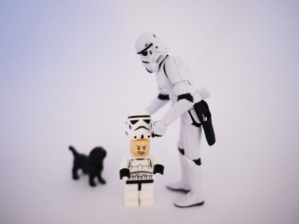 Today you are no longer a boy.  You are now a storm trooper.