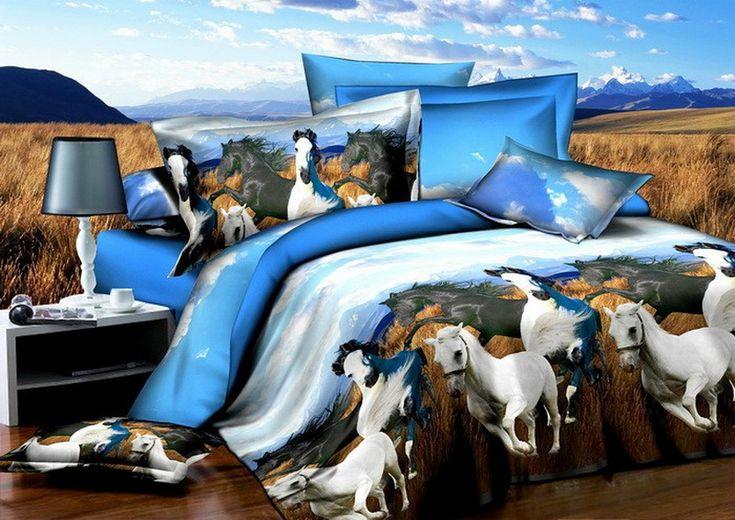 Ferghana Horse Duvet Cover Set 3d Bedding 3d Bedding