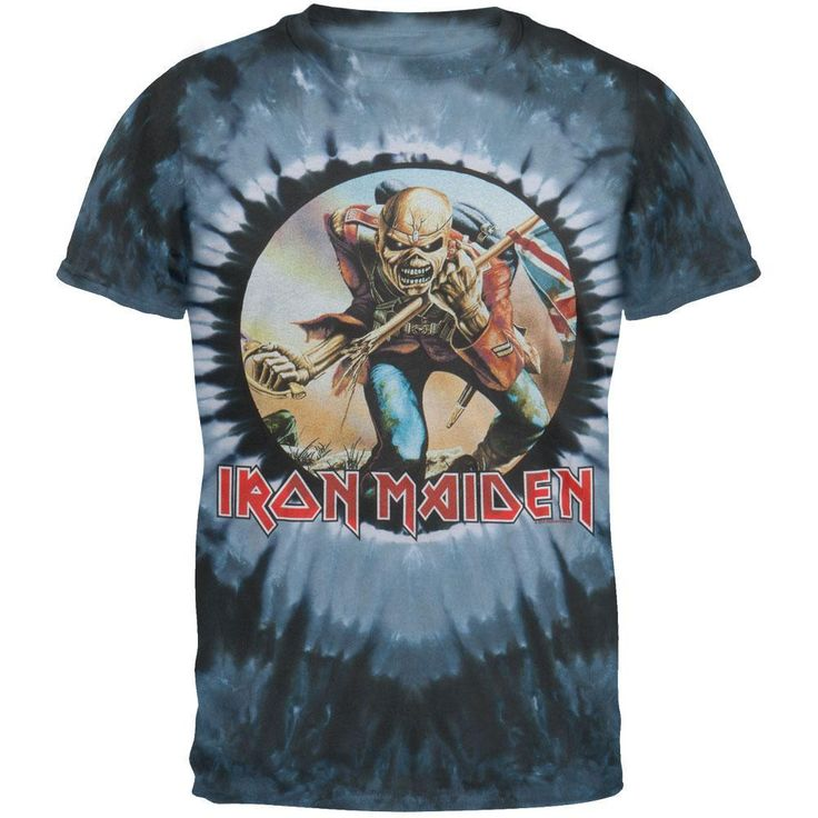 Iron Maiden - The Trooper Tie Dye T-Shirt