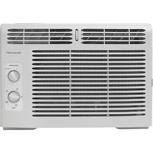 Frigidaire FFRA0511R1 5, 000 BTU 115V Window-Mounted Mini-Compact Air Conditioner with Mechanical…