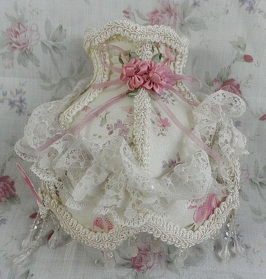 baby girl nightlight shabby chic