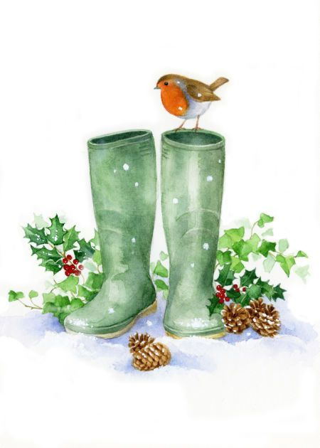 Lisa Alderson - LA - Robin And Wellies Copy: