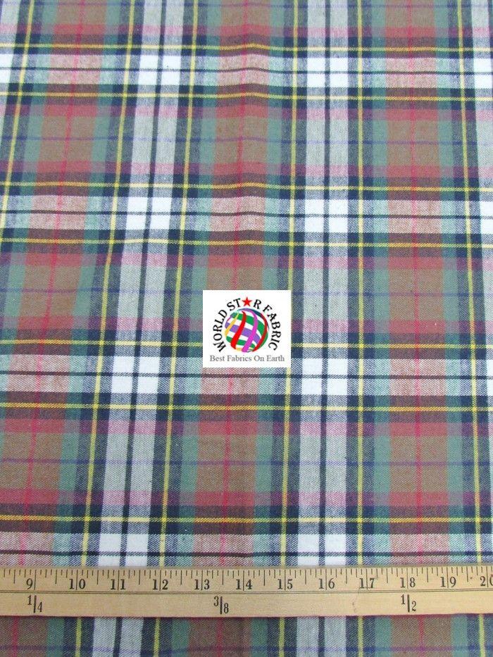12 best Plaid Tartan Quilt Flannel Fabric images on Pinterest ... : tartan quilt - Adamdwight.com