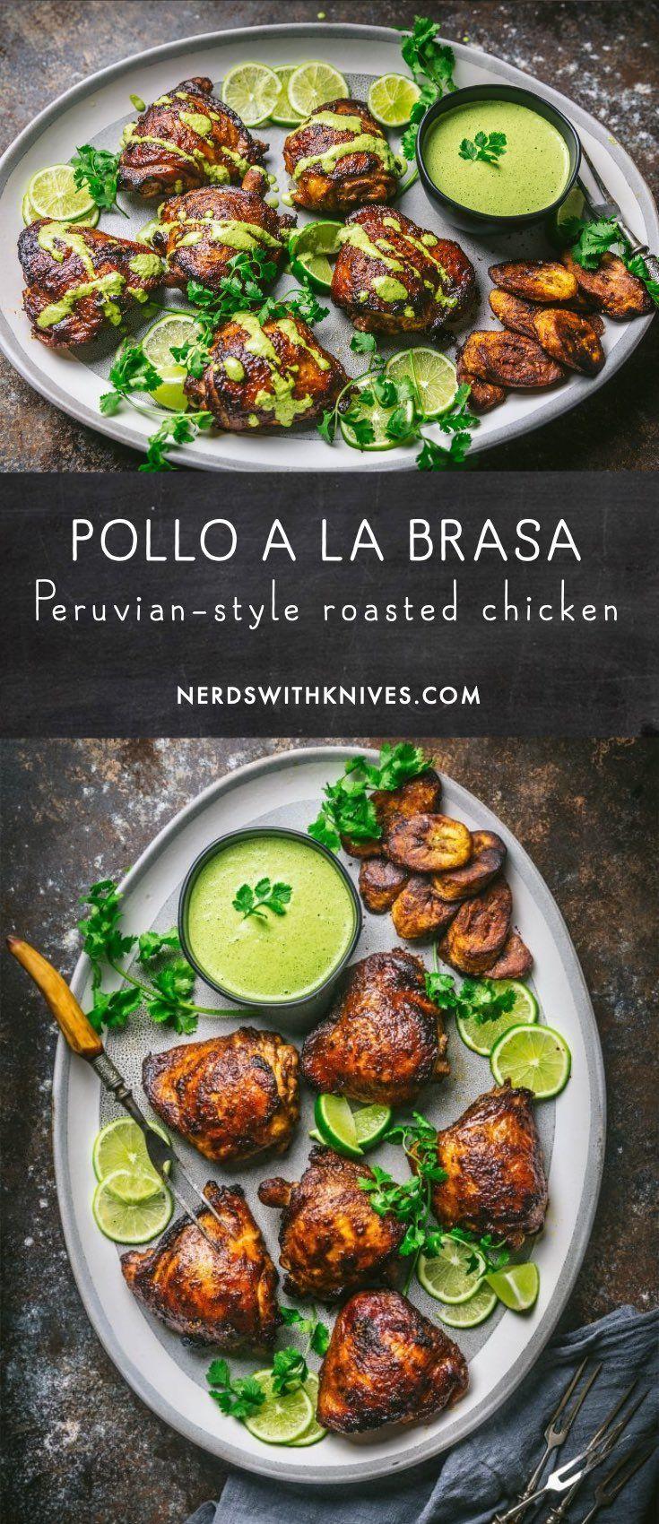 Pollo a la Brasa (Peruvian-style Roasted Chicken)