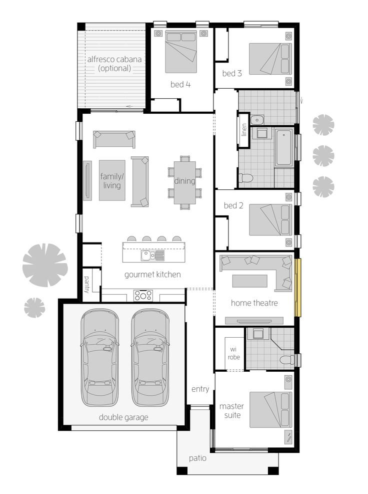 86 Best Images About Floorplans On Pinterest Home Design
