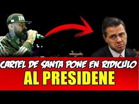CARTEL DE SANTA RETA AL PRESIDENTE ENRIQUE PEÑA NIETO POR  ESTO #FuerzaM...