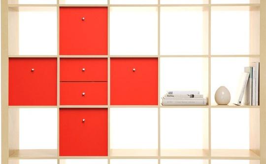 Cubes: Playrooms Ideas, Red Crosses, Ikea Expedition, Custom Ikea, Color, Ikea Shelves, Expedition Insert, Ikea Hacks, Ikea Furniture