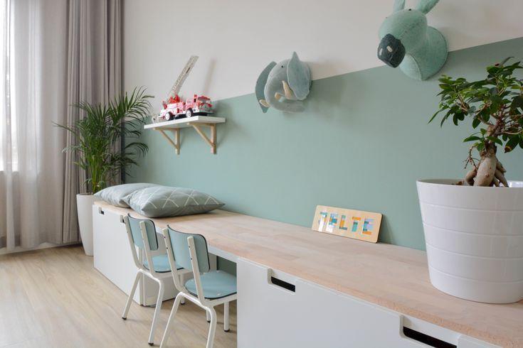 Niedliche Schreibtisch- und Wanddekoration für Mädchen