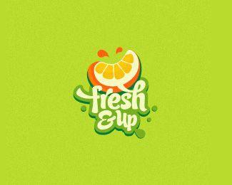 Fresh&Up logo by @mrmuctache - Logopond.com Work in progress